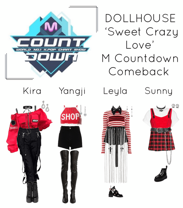 {DOLLHOUSE} 'Sweet Crazy Love' M Countdown Comeback Show
