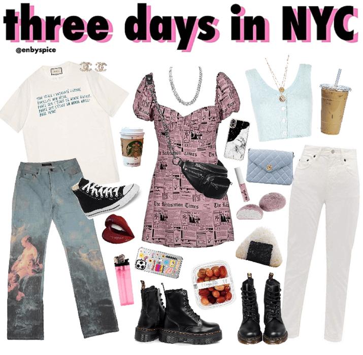 three days in new york city