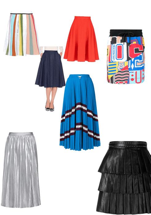 Lorrie Gonzales Skirt options