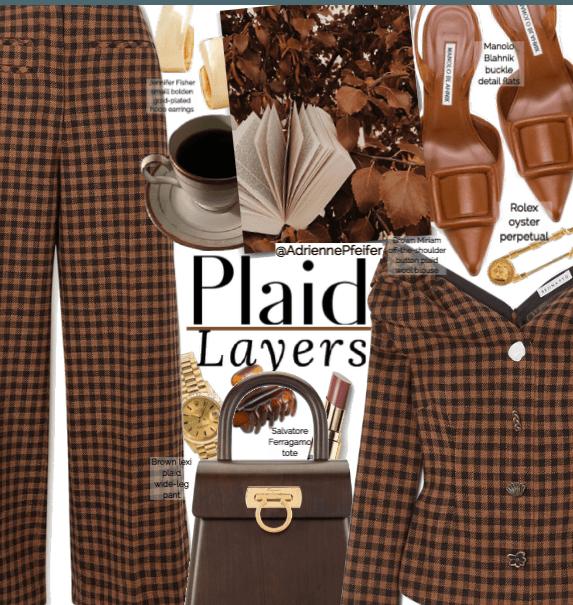 Plaid Layers 🍂
