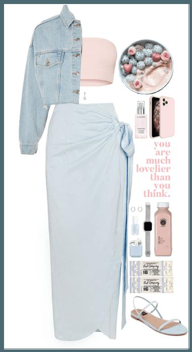 Baby Blue + Pastel Pink