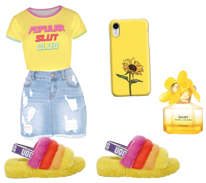 The ugg outfit💗💛