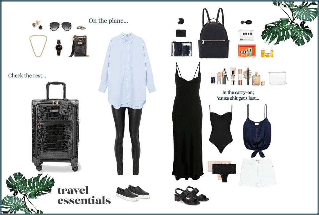 Travel Essentials Summer Holiday