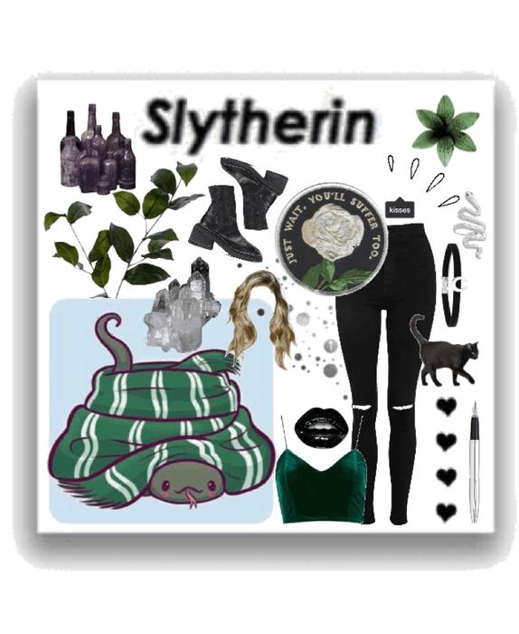 slytherin; an aesthetic