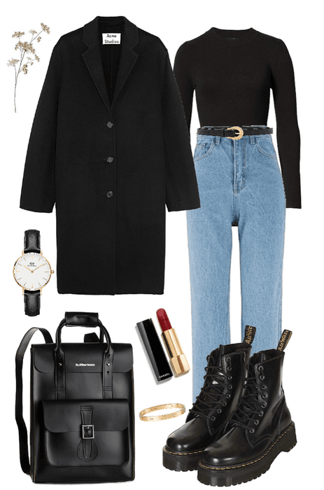 Fall/Winter in black