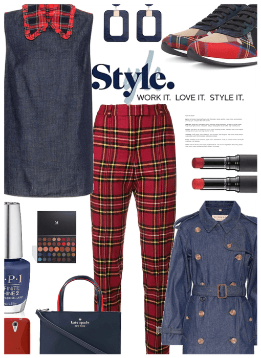 Style! Denim Meets Plaid