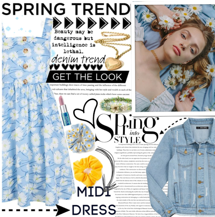 Spring Trend: Daisy Midi Dress.