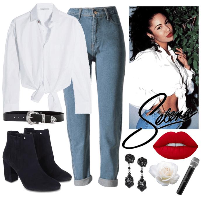 Selena Quintanilla Outfit Shoplook