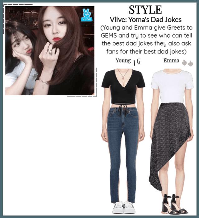 STYLE Vlive: Yoma's Dad Jokes
