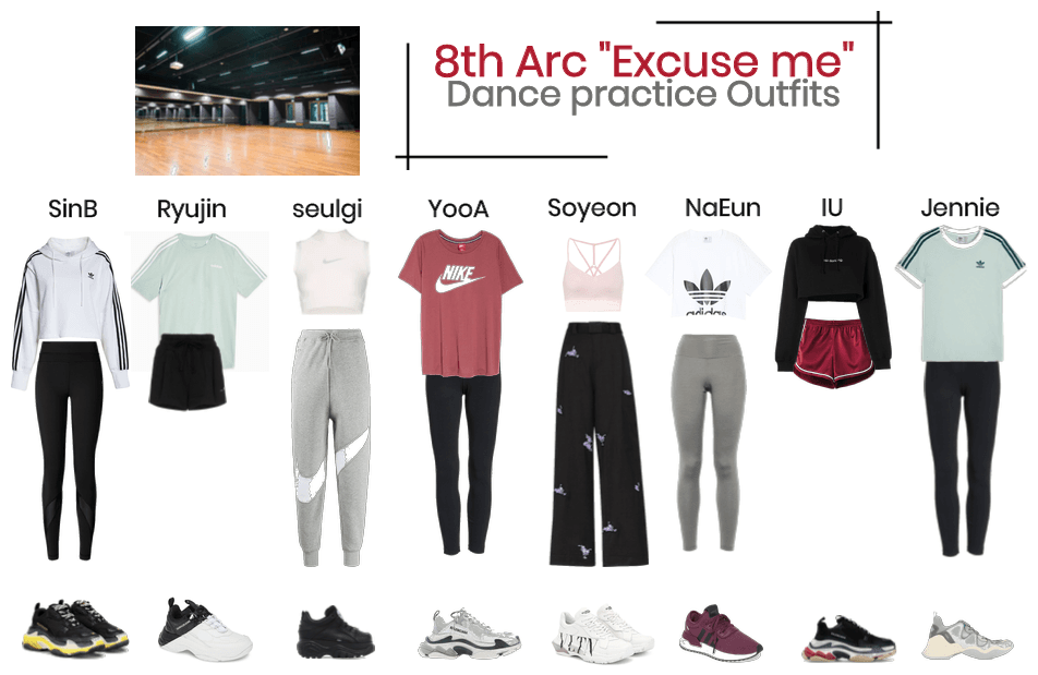 "#8thArc ""excuse me"" dance practice"