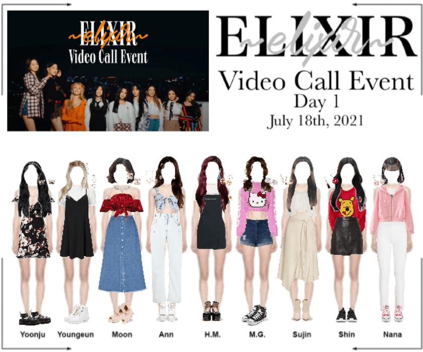 ELIXIR (엘릭서) | Video Call Event (Day 1)