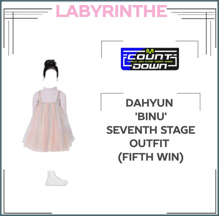Dahyun 'binu' seventh stage