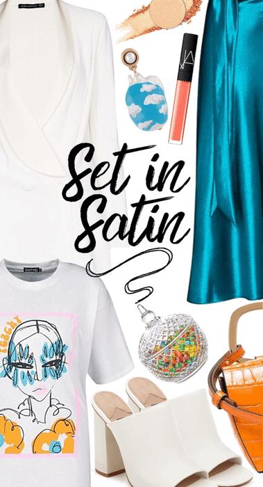 Set in Satin