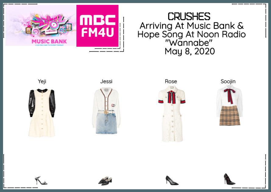 Crushes (호감) Arriving at music bank & Radio