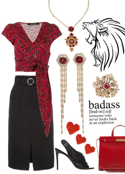 She's a Lion-hearted Badass
