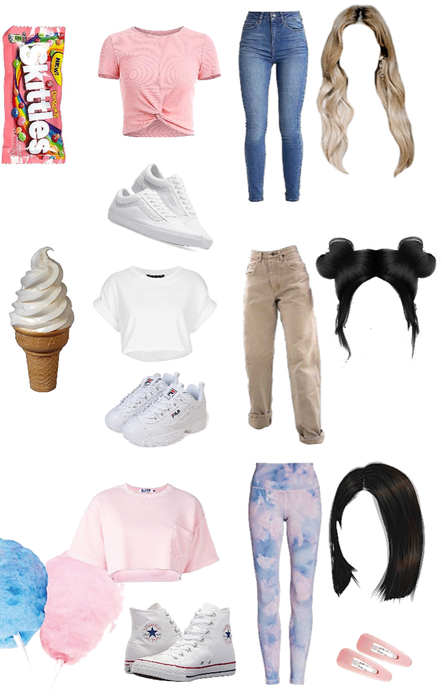 Food inspired outfits