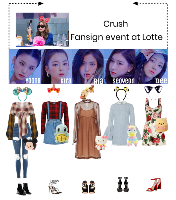 Fansign event at Lotte
