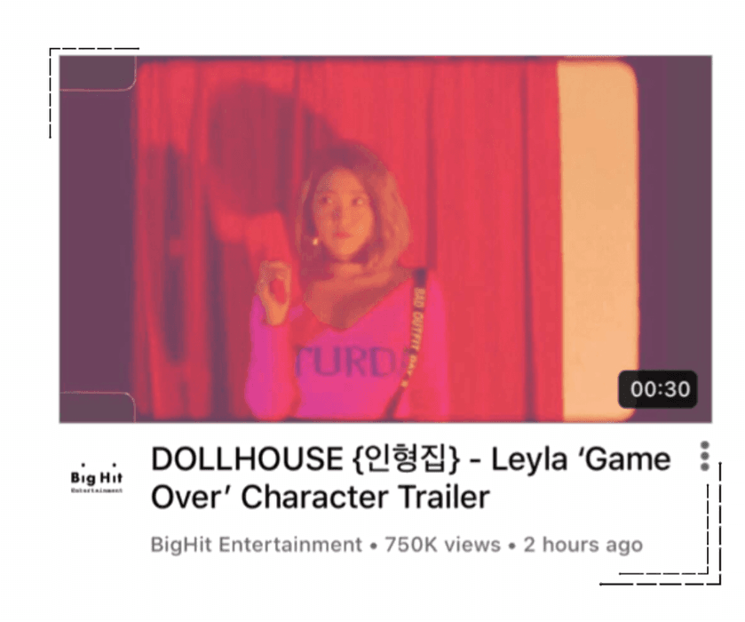 {DOLLHOUSE} Leyla 'Game Over' Character Trailer