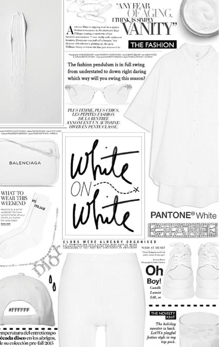 white on white. 🤍