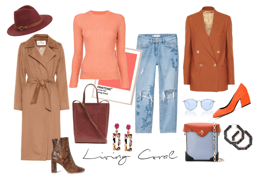 Living Coral Styling