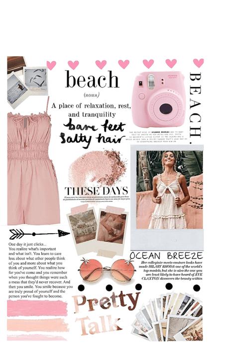 beach Polaroids