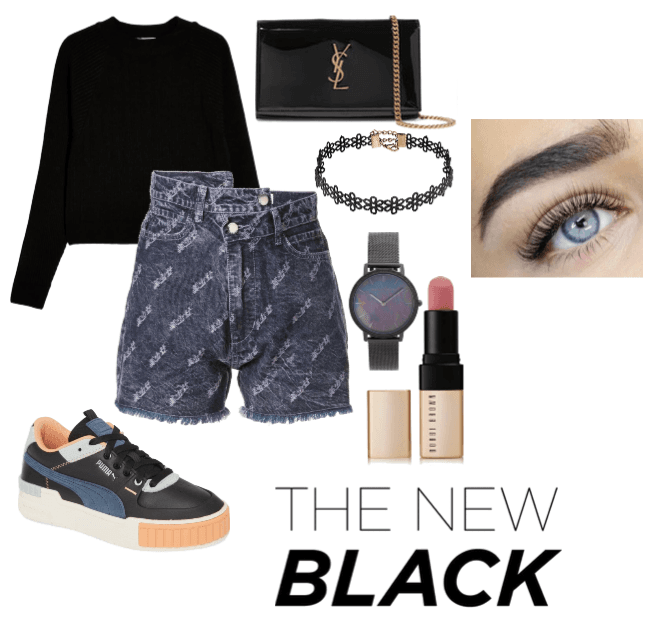 The one with everything black