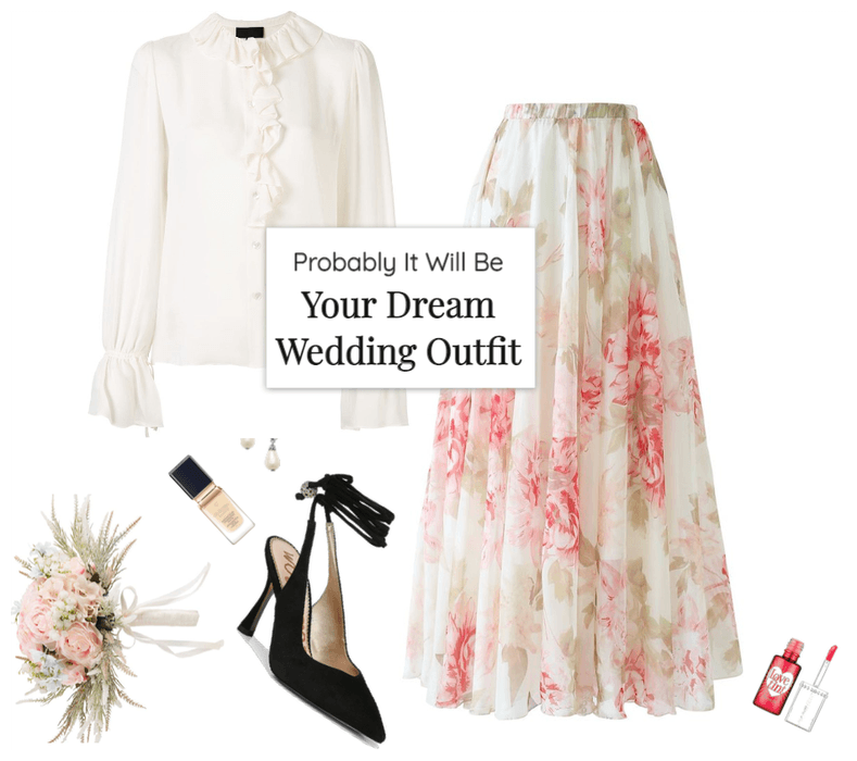 Probably It Will Be Your Dream Wedding Outfit