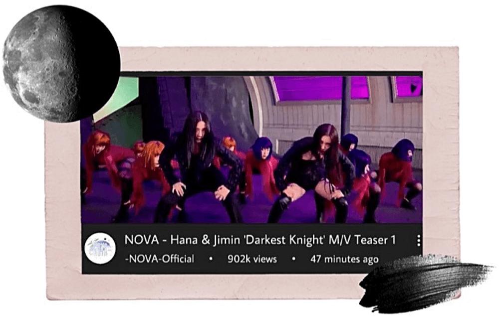 -NOVA- Hana & Jimin Sub-Unit M/V Teaser 1