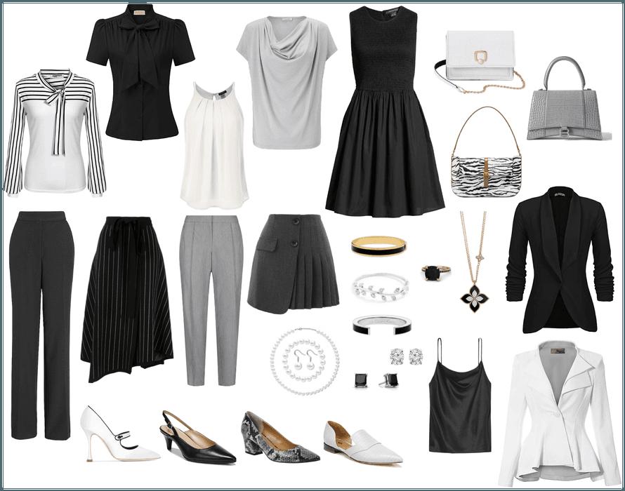 easy work wardrobe