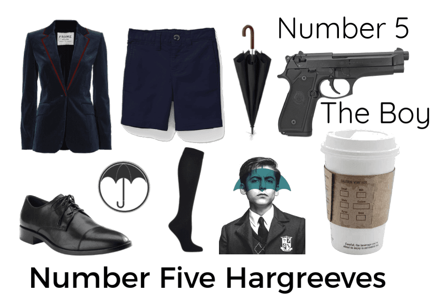 Number Five Hargreeves