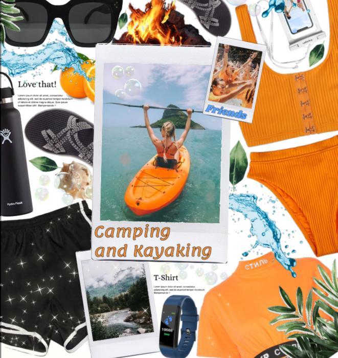 Let's kayak and camp this Saturday