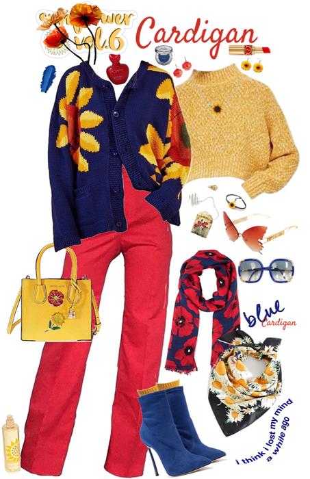 Sunflower or Poppy Cardigan
