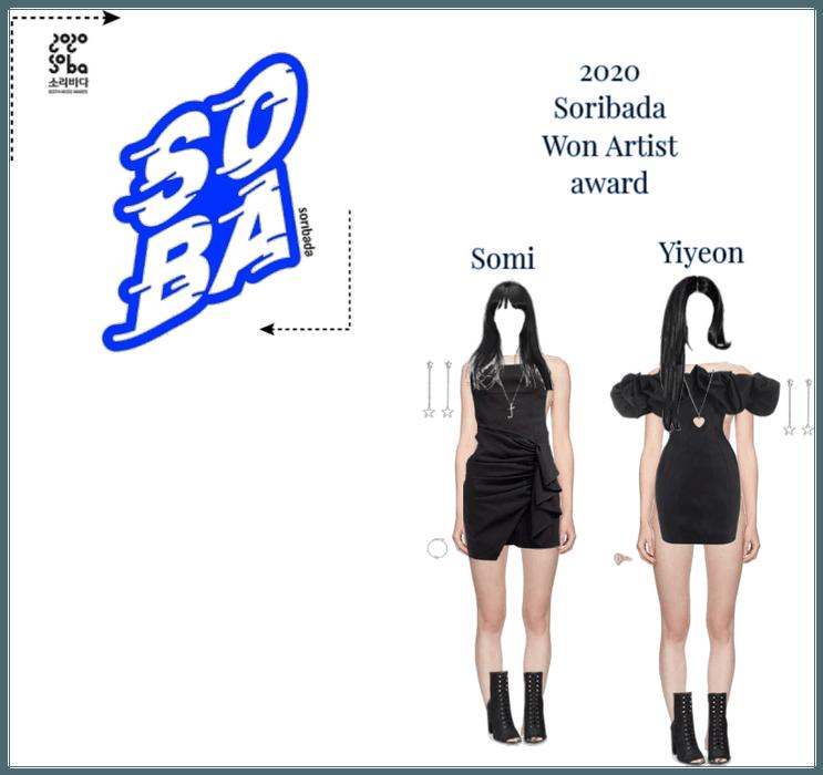 Yiyeon And somi Soribada Awards