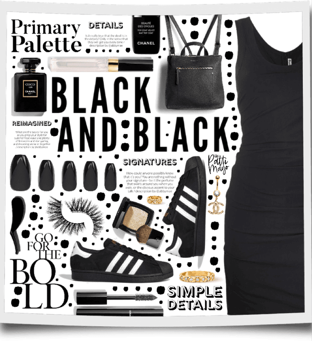Black & Black 🖤🖤