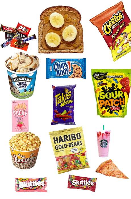 Food I can't leave without