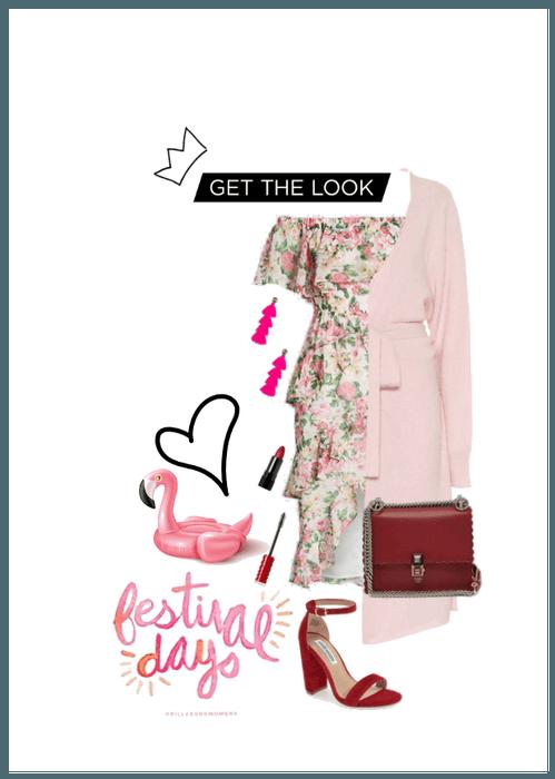 Coachella in Pink-Ruby ♡♡♡♡♡