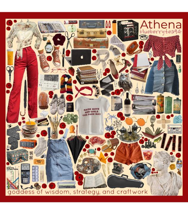Athena moodboard