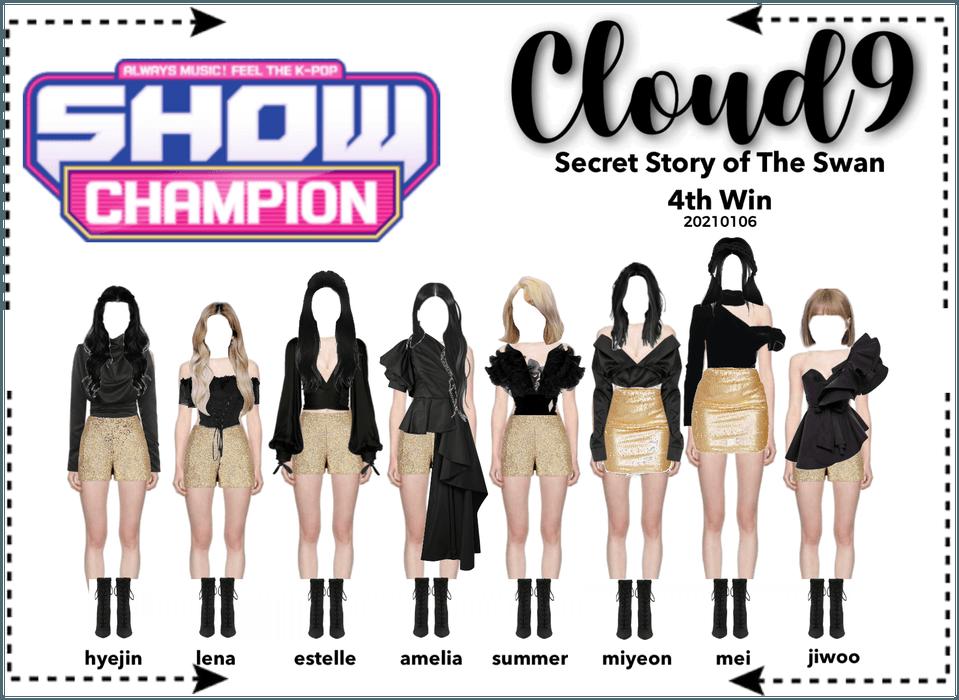Cloud9 (구름아홉)   Show Champion 4th Win   210106