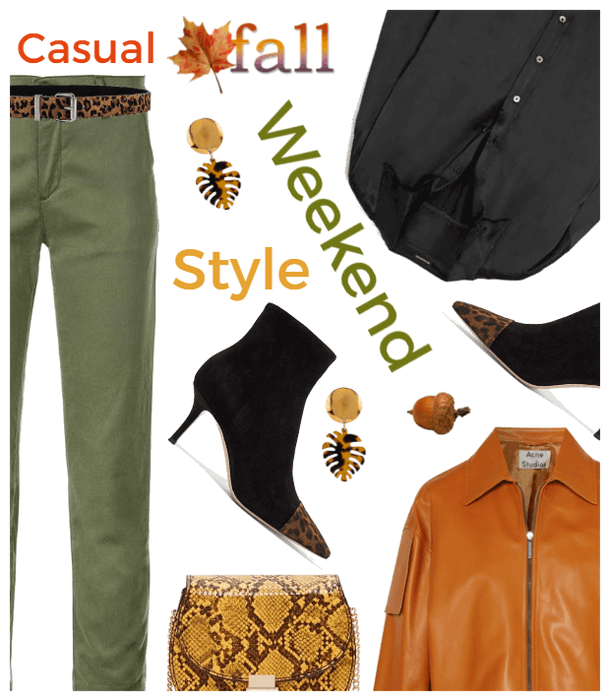 Casual Fall Weekend Style