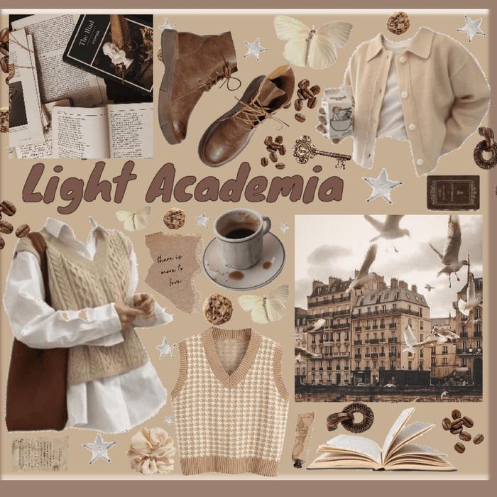 light academia 🤎🍪☕️