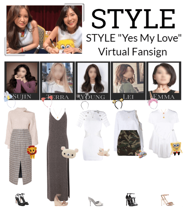 """STYLE """"Yes My Love"""" Virtual Fansign"""