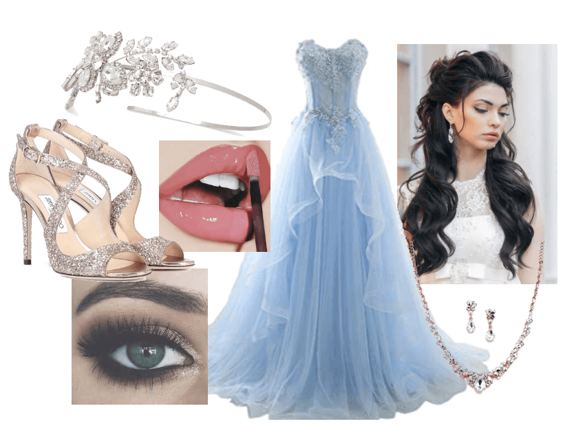 Icy Formal Gown