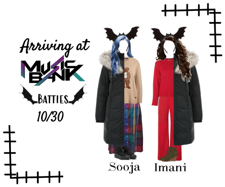 Batties Arriving at Music Bank 10/30