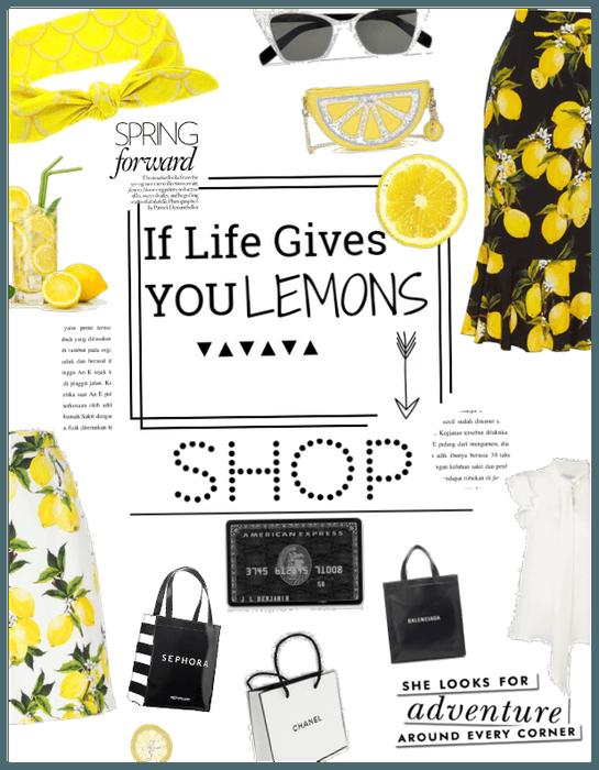 When life gives u lemons-Shop
