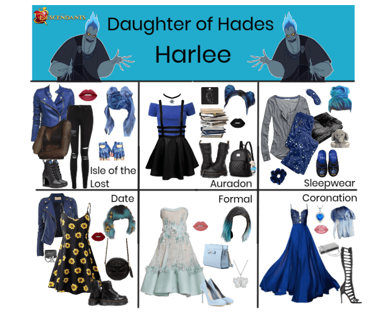 Harlee, Daughter of Hades (Descendants)