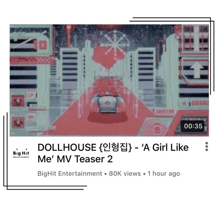 {DOLLHOUSE} 'A Girl Like Me' MV Teaser #2