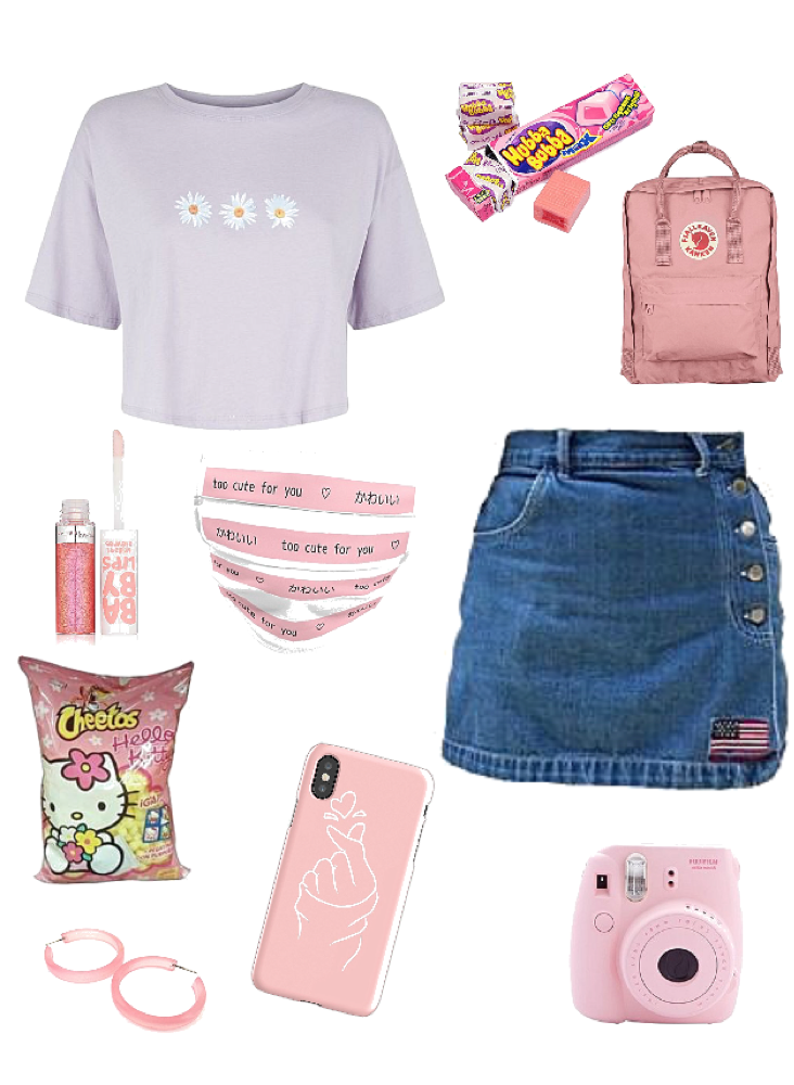 Soft Anime Girl Aesthetic Outfit Shoplook